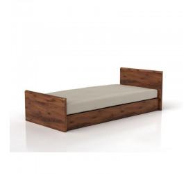 ИНДИАНА (дуб шуттер) Кровать JLOZ 90 (Каркас)