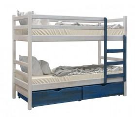 КЕНГУРУ Двухъярусная деревянная кровать 160