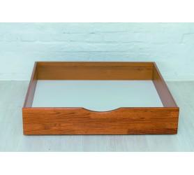 ЛИКА Деревянная кровать без изножья с ящиками