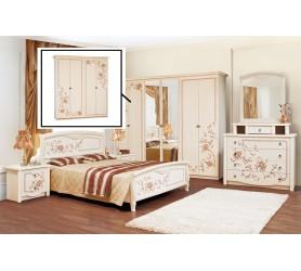 Комплект спальни ВАНЕССА (Шкаф 4Д)