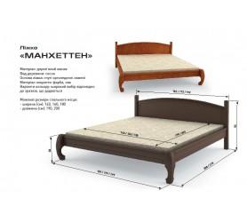 Кровать Деревянная Манхеттен