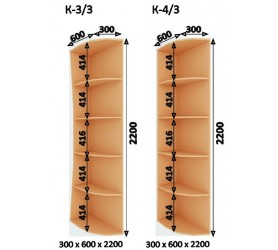 Шкаф-Купе (ШК-4) 2400х2200х600