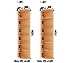 Шкаф-Купе (ШК-4) 2400х2400х600